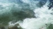 River turbulance Stock Footage