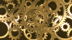 Gears in Motion 1 - stock footage