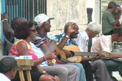 people on the streets havana 3 - stock footage