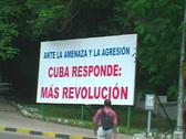 Stock Video Footage of propaganda billboard