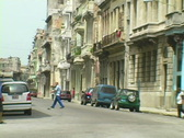 Stock Video Footage of Side streets of Havana