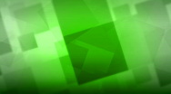 Stock Video Footage of HD Green Animated Squares Background Loop