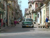Stock Video Footage of busy streets of havana