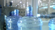 Bottled water factory 009 Stock Footage