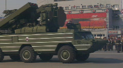 Military vehicles. Army show. Stock Footage