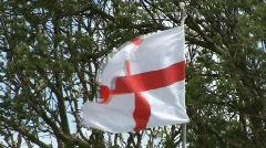 English flag Stock Footage