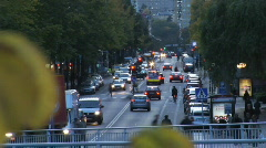 Streets of Stockholm Sweden Stock Footage