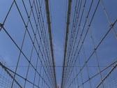 Brooklyn Bridge-Spider Stock Footage