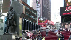 Times Square Video - stock footage