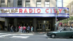 Radio City - stock footage