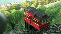 Duquesne Incline Establishing Shot Stock Footage