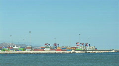 Port of Malaga Stock Footage