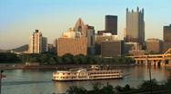 Stock Video Footage of Gateway Clipper 515