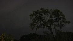 Lightning Storm Timelapse Stock Footage