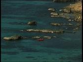 Mediterranean coast Stock Footage