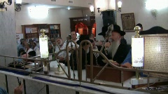 Celebration of Rabbi Meir Baal HaNess, Tiberias, Israel - stock footage