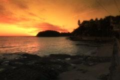 Sunrise over the Ocean SD NTSC Stock Footage