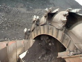 Stock Video Footage of Coal mining.