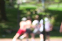 Healthy People Playing Basketball 2 Stock Footage