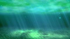 Looping sea animation (HD NTSC) Stock Footage