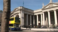 Stock Video Footage of Bank of Ireland, Dame Street, Dublin