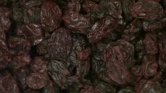 Raisins macro loop - HD Stock Footage