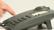 Stock Video Footage of Telephone HD