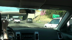 highway travel ,America - stock footage