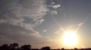 Sunset 104 WIDE (480p 29.97) Stock Footage