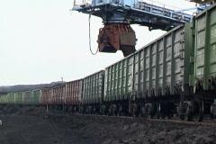 Coal loading. - stock footage