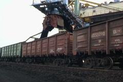 Coal loading. Stock Footage