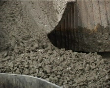 Concrete pouring Stock Footage