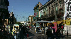 Caminito, Buenos Aires Stock Footage