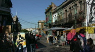 Stock Video Footage of Caminito, Buenos Aires