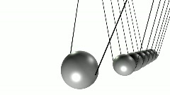 Pendulum with balls - stock footage