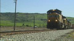 FreighttrainPassing Stock Footage
