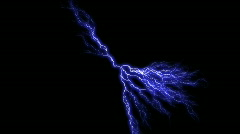 db electricity 02 1080 lightning - stock footage