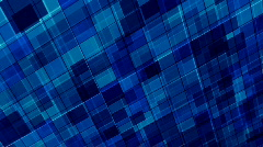 Blue mosaic background - stock footage