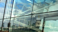 St pauls cathedral city london Stock Footage