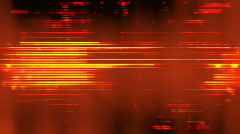 Red Digital Lines - stock footage
