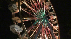 Amusement Ride  Stock Footage