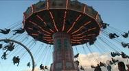 Amusement Ride  2 of 3 Stock Footage