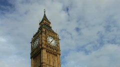 big ben parliament london uk - stock footage