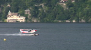 Stock Video Footage of seaplane takeoff 01