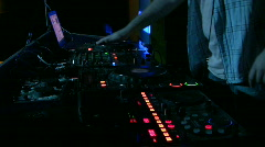 DJ - stock footage
