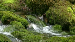 Mountain small river. - stock footage