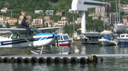 Stock Video Footage of seaplane base 08
