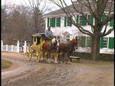 Stock Video Footage of Horse and Carriage 3 C