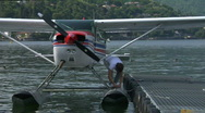 Stock Video Footage of seaplane base 09
