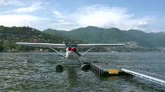 Seaplane base 04 Stock Footage